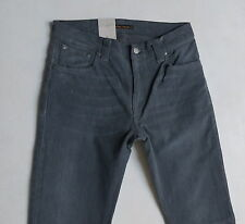 Nudie Men Jeans 36 W x 34 Thin Finn Organic Cotton Lighter Shade New with Tags