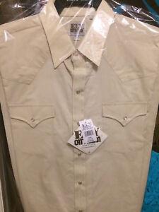 Ely Cattleman Tall Mens Short Sleeve Stripe Snap Western Shirt