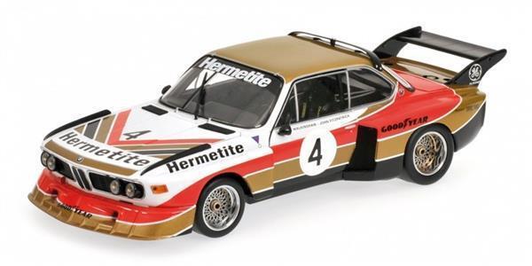Minichamps BMW 3,5 CSL Gr.5 Hermetite Fitzpatrick 1 18   180762004