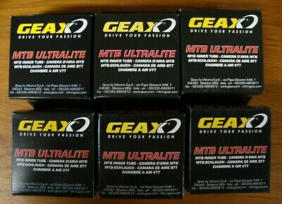 Geax BUTYL MTB Inner Tube 26 x 1.10 1.50 MTB Ultralite Presta 292.157.0 CASE