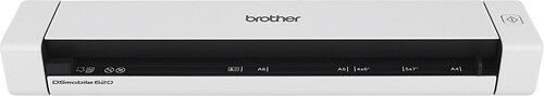 DS-620 Mobile Color Page Scanner Brother White