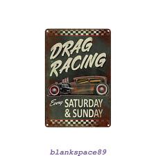 Metal Tin Sign westwood historics last race  Decor Bar Pub Home Vintage Retro