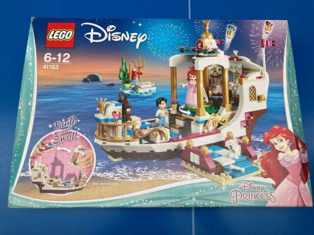 LEGO DISNEY Princess 41153 LE BATEAU DE MARIAGE D'ARIEL LA PETITE SIRENE NEUF