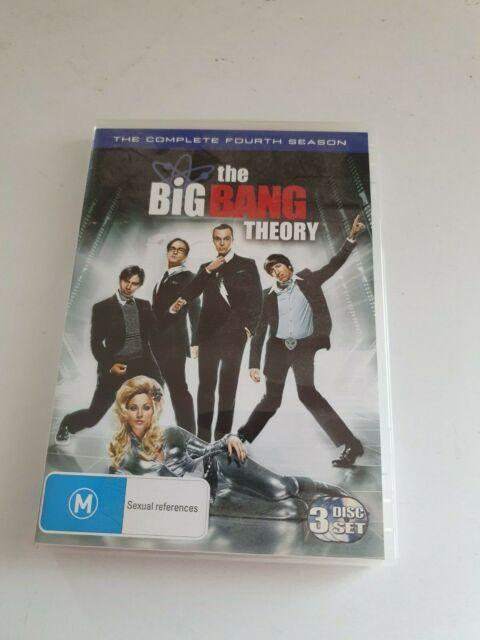 The Big Bang Theory Season 4 DVD