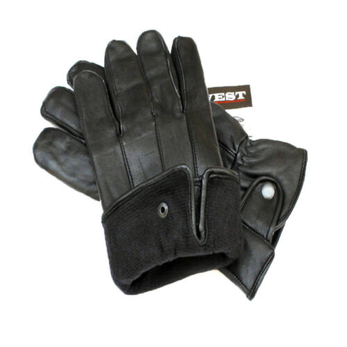Touchscreen Genuine Sheep Skin Leather Motorcycle Driving Gloves