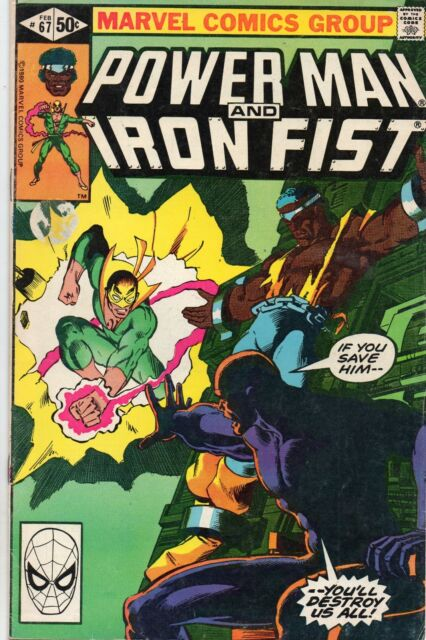 Power Man and Iron Fist #67 (Feb 1981, Marvel) VG