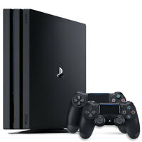 Sony PlayStation 4 Pro 1TB Gaming Console + DualShock 4 Wireless Controller