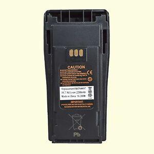 Nntn4497 Li Ion Battery For Motorola Cp180 Cp200 Pr400 Two