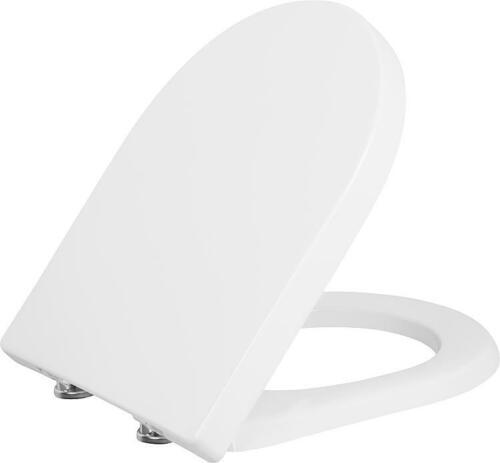 Softclose weiß WC-Sitz Jari aus Duroplast,Edelstahlscharn