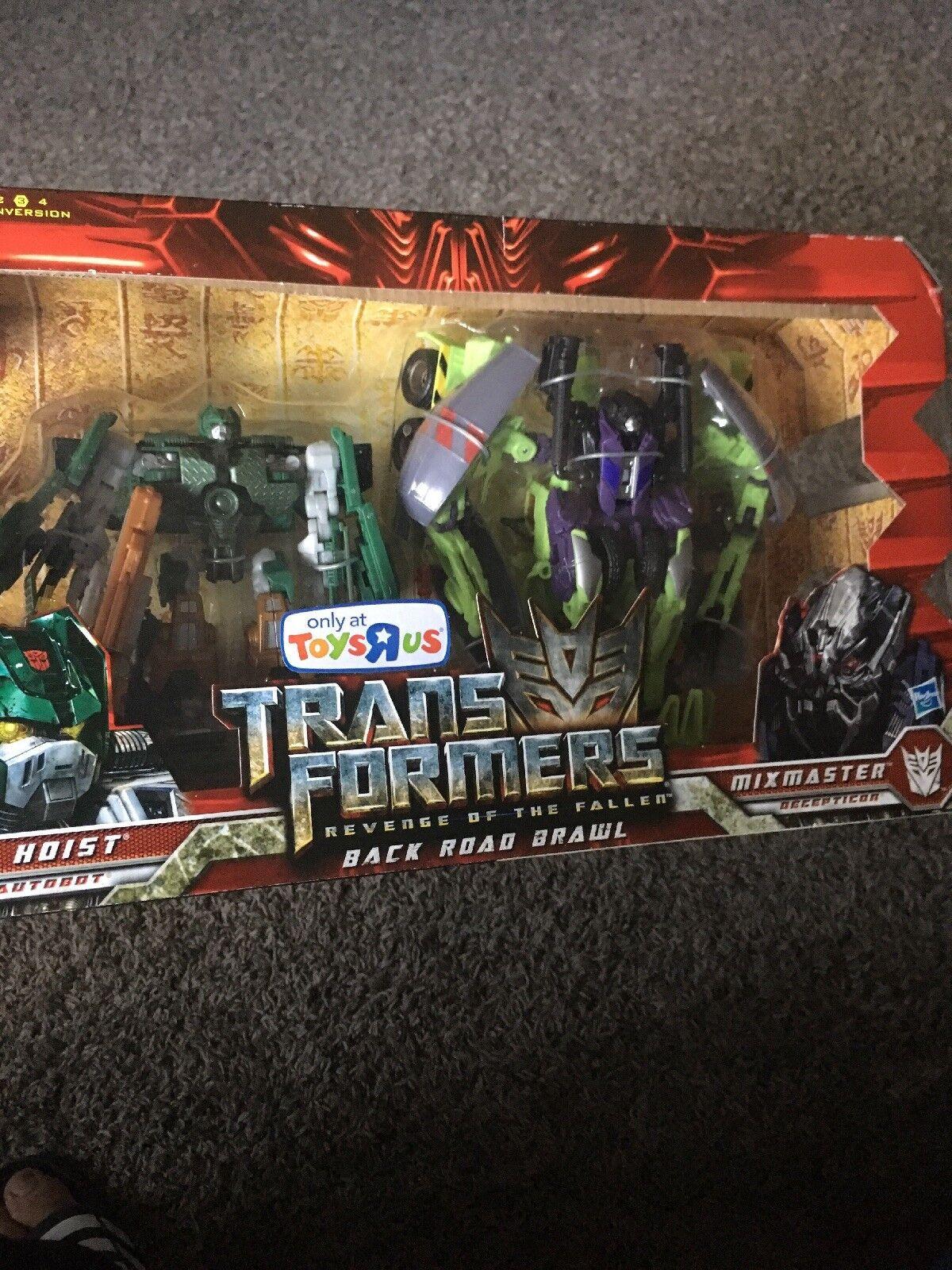 Transformers rojof  atrás Road Brawl Juguetesrus exclusivo Set  set sin usar y en caja sellada Hasbro 2009