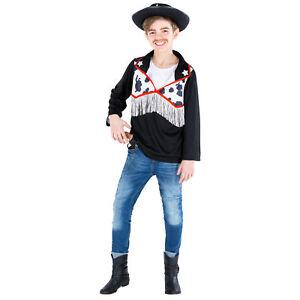 c69020410b79 Caricamento dell'immagine in corso Costume-da-Ragazzo-Cowboy-Sceriffo- Bambini-Bambino-Carnevale-