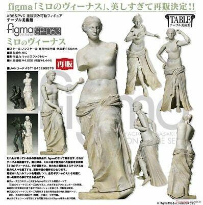 New FREEing  figma table Museum of Art and Statue of David non-scale  Japan