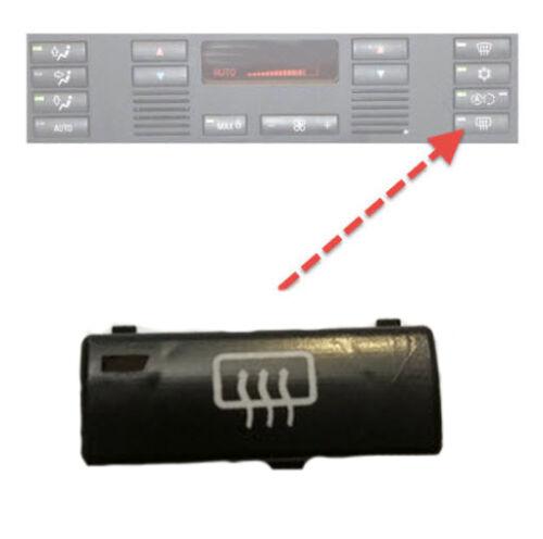 für BMW 5er E39 X5 E53 Klimabedienteil Schalter Taste Heckscheibe Heizung