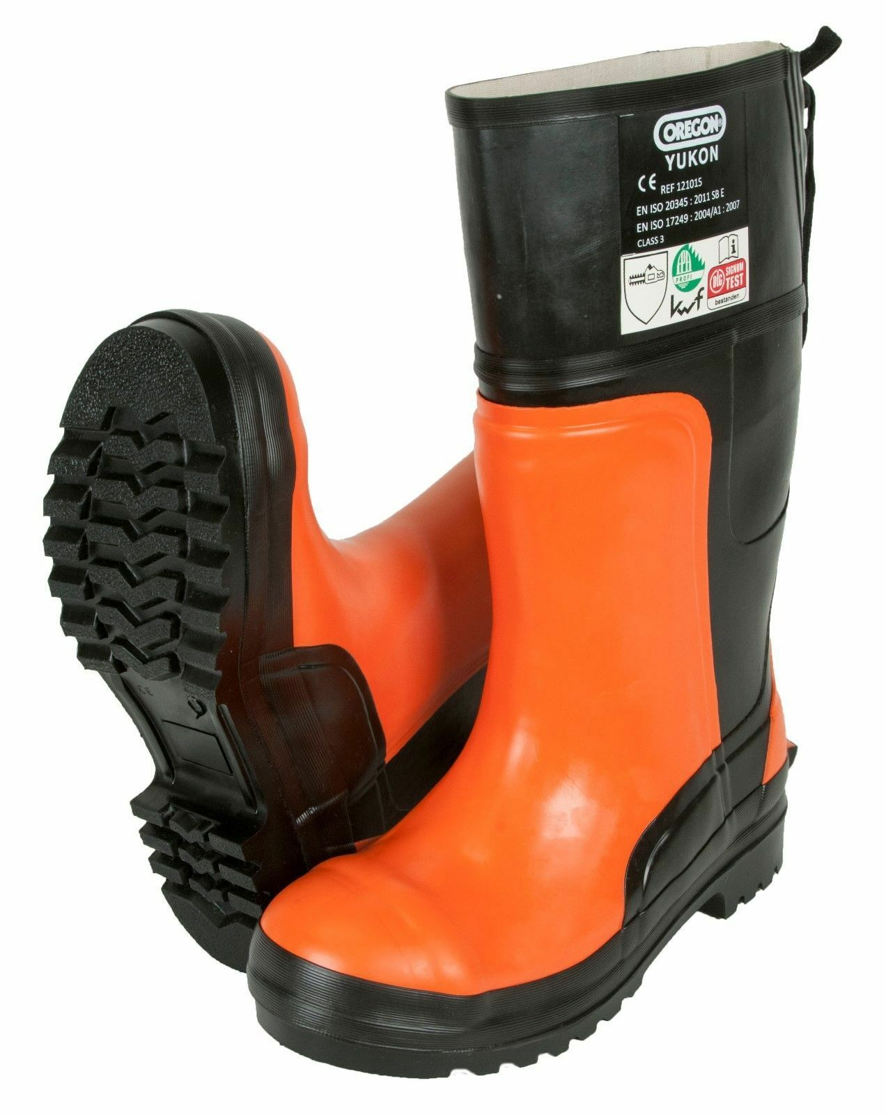 Oregon Yukon Chainsaw Rubber Safety Stiefel Class 3 (28 m s) - All Größes