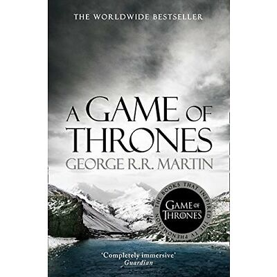 A Game of Thrones A Song of Ice and Fi by George R.R. Martin New Paperback Book