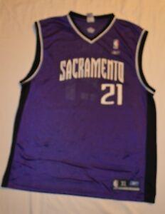 0220b8b61 Sacramento Kings  21 Vlade Divac Purple Champion Jersey REEBOK SZ XL ...