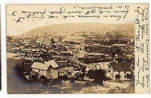 RPPC-PRR-Pennsylvania-Railroad-JOHNSONBURG-PA-Elk-County-Real-Photo-Postcard