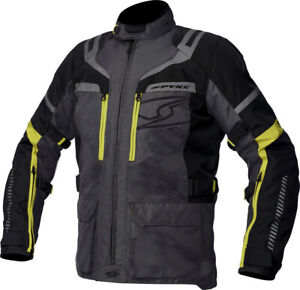 Fabric-Jacket-Spyke-Removable-Meridian-Dry-Yellow-Black-Gray-Size-52