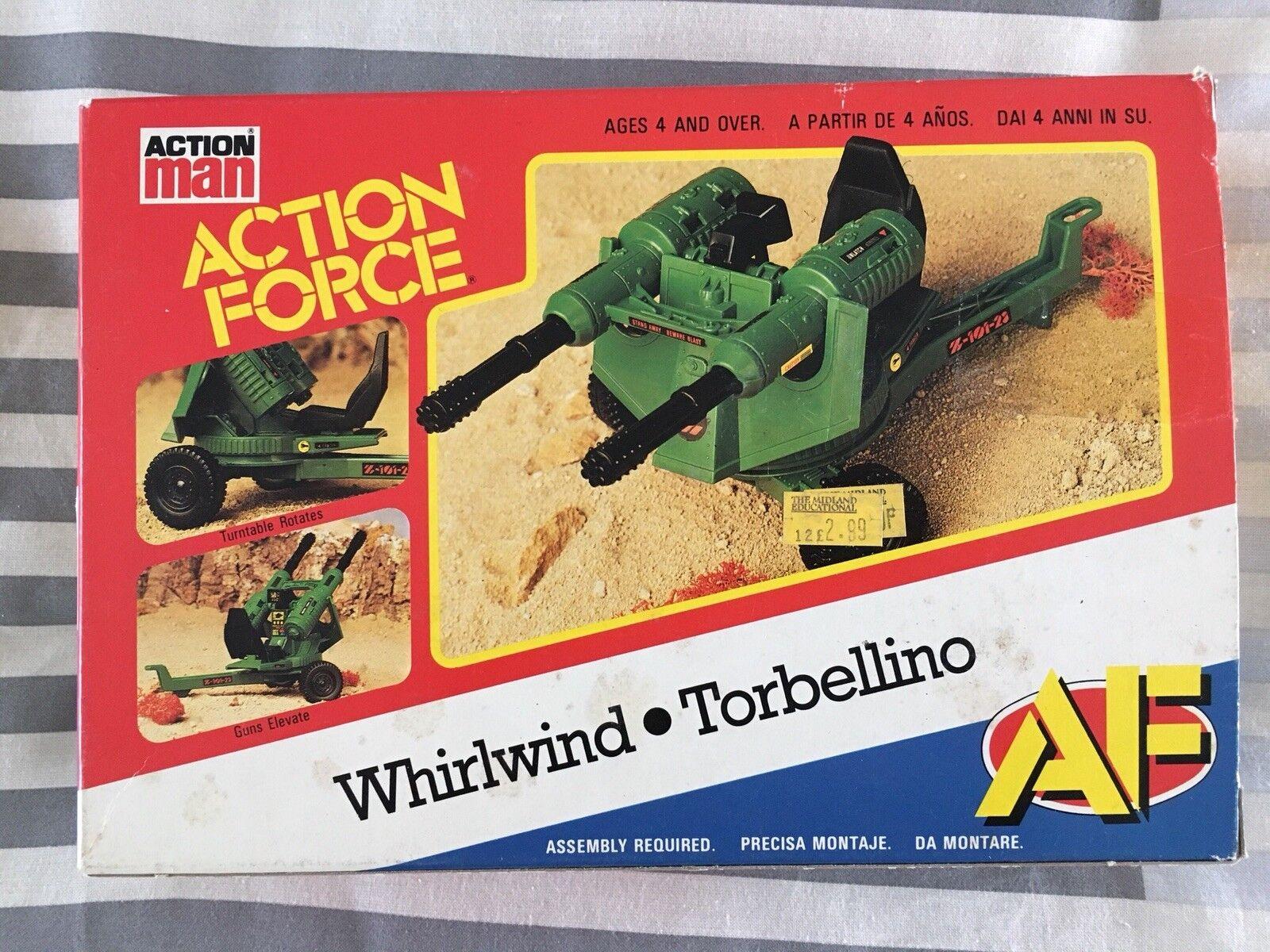 opciones a bajo precio PALITOY Acción FORCE af Whirlwind Whirlwind Whirlwind sin usar MIB Gi Joe  cómodamente