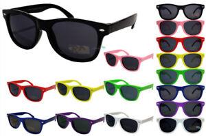 694da10e980 Detalles de Gafas de sol para niños MULTIPACK color Marco Lentes OSCUROS  Chicos Y Chicas