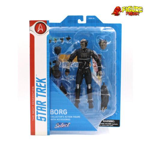 "Star Trek Select next generation borg 7/"" Action Figure Near Comme neuf Paquet!"