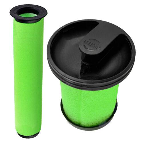 Green Aspirapolvere Lavabile Kit Filtro per aria sistema GTECH RAM K9 Multi MK2 Cordless