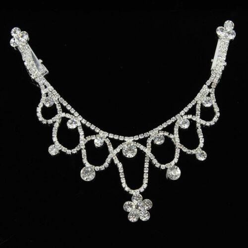 Crystal Rhinestone Bridal Head Chain Headband Forehead Hair Jewelry Head Piece