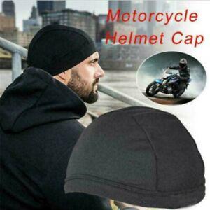 2xMoisture Wicking Cooling Skull Inner Liner Helmet Beanie Dome Cap Sweatband UK