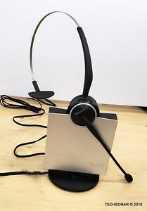 Jabra-GN-Netcom-9120-Wireless-Headset-Base-Cradle-Base-band-AC-Adapter