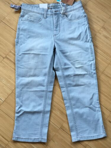 Mac Angela Damen Hose Jeans Damenjeans 36//21 graublau 3//4-Hose 0326-03-D412