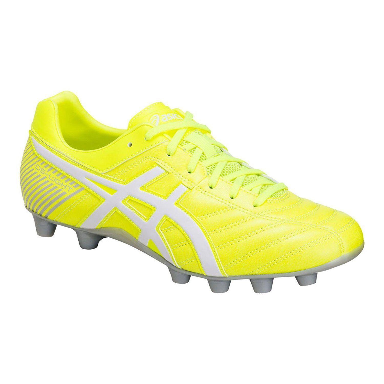 86e5071d485 ASICS Soccer Spike shoes DS LIGHT 2 TSI754 Yellow White US10(28cm) Rugby WB  nvzmvf3219-Men