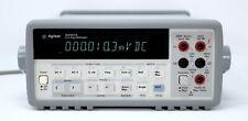 Hp Agilent 34401a Digital Multimeter 6 Digit Tested Amp Spot On Leads Clean
