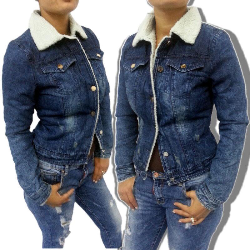 Fourrure Xs Slim En s Écho Jeans Court Veste Femme wxFqnI0XFz