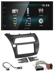 Kenwood AUX Bluetooth USB MP3 2DIN Autoradio für Honda Civic (2006-2012)