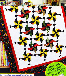 Festivities-pieced-quilt-PATTERN-for-2-5-034-strips-Cozy-Quilts-5-sizes