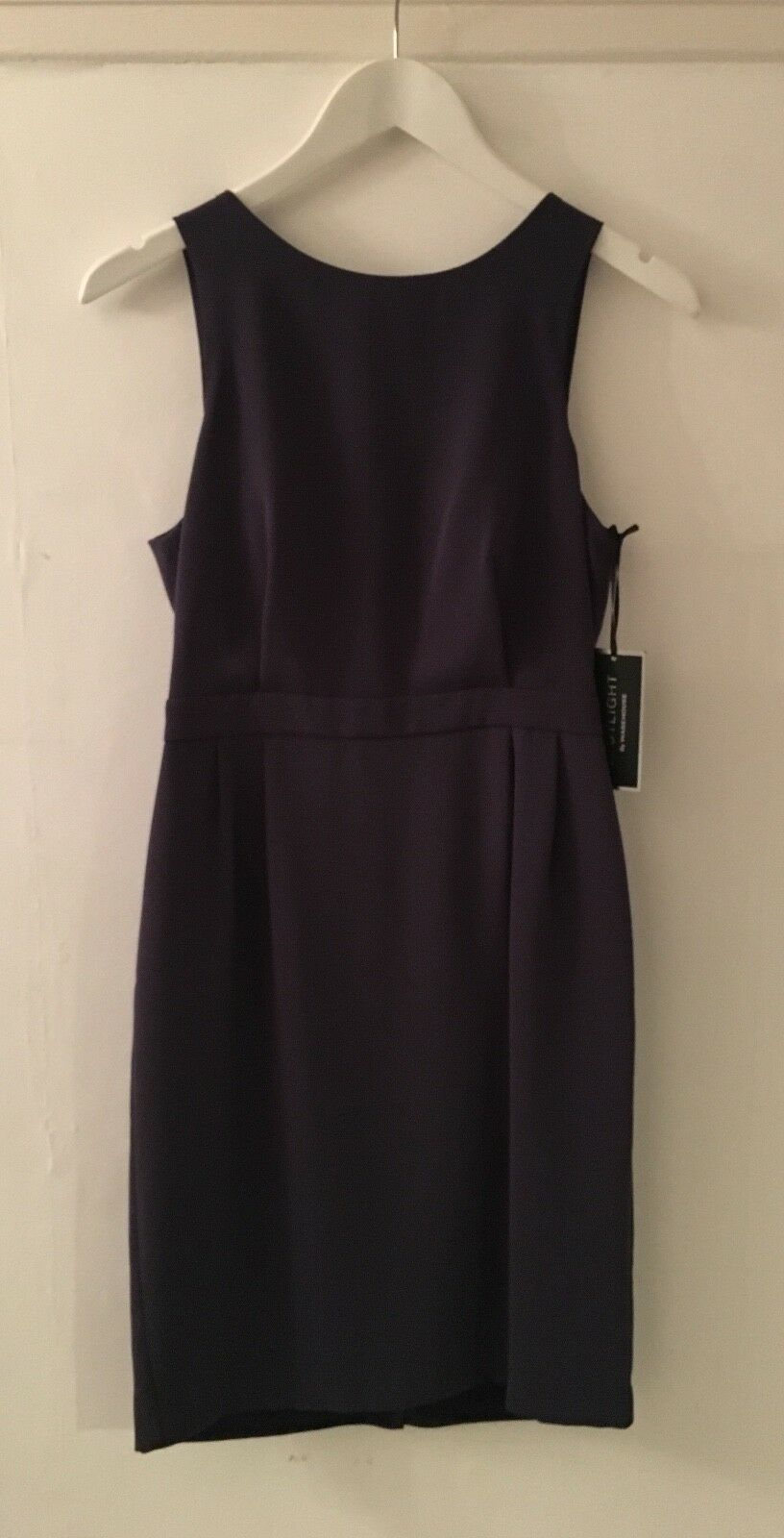 WAREHOUSE SPOTLIGHT blueE EMBELLISHED DRESS SIZE BNWT