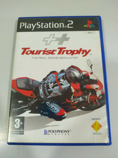 Tourist Trophy Riding Simulator Polyphony - PLAYSTATION 2 Jeu De Pour Ps2