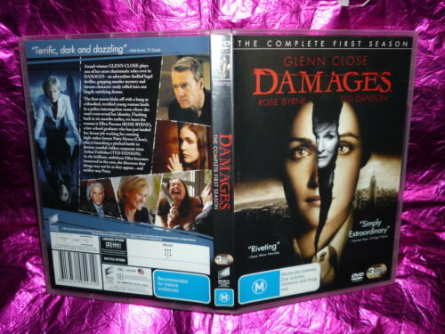1 of 1 - DAMAGES THE COMPLETE FIRST SEASON (3-DISC SET) (DVD, M)