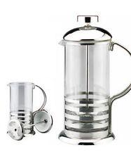 800ml / 8-cup IN ACCIAIO INOX VETRO CAGLIARI francese Filtro Caffè PRESS stantuffo