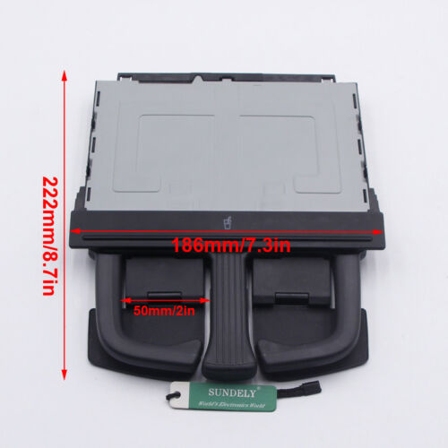 Rear Seat Armrest Cup Holder For VW Passat B6 06-11 Touareg 03-10 A3//S3 04-13