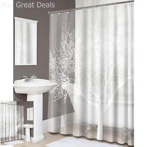 Image Is Loading Tree EVA Shower Curtain PVC Free Bathroom Decor