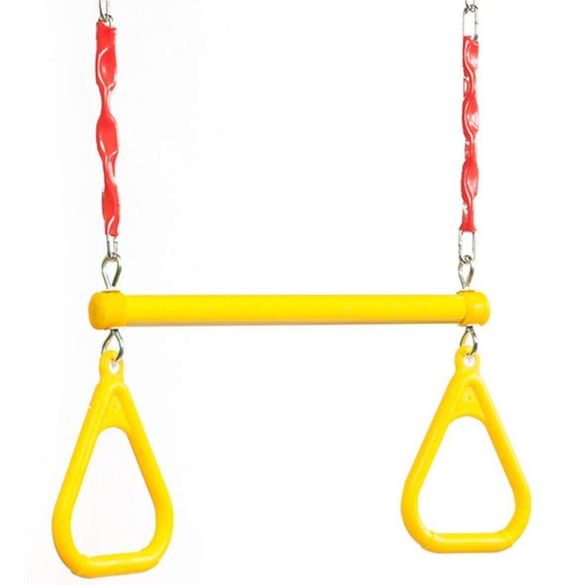 marca famosa Diapositiva de oscilación subida Acero Trapecio con anillos anillos anillos de longitud ajustable amarillo  Aust marca  tienda de bajo costo
