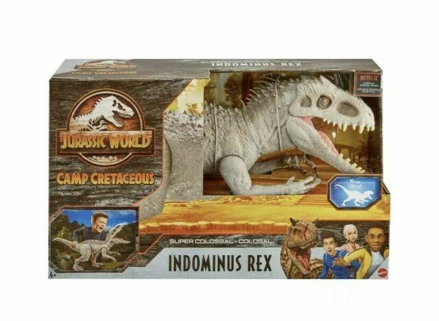 Mattel Jurassic World Camp Cretaceous Indominus Rex Action Figure For Sale Online Ebay