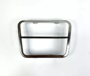 1967-72 Chevy GMC Truck Brake /& Clutch Pedal Pad w// Stainless Steel Trim