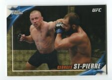 2019 Topps UFC Chrome Knockout SuperFractor Georges St-Pierre