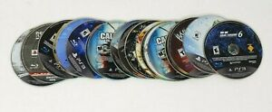 Sony-PlayStation-3-PS3-25-Scratched-Video-Game-Lot-AS-IS-Defective