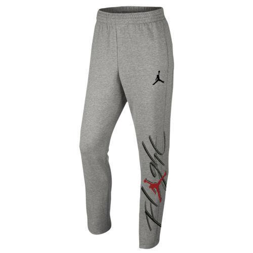 47f4b4e288e Nike Air Jordan Jumpman Graphic Tapered S SM Flight Sweatpants Black 845862  063 for sale online | eBay