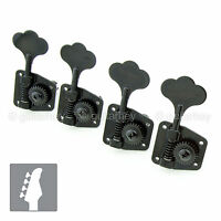 Gotoh Gb29 Machine Head Set 4-strings Bass L4 In Line W/ Screws - 1:26 - Black