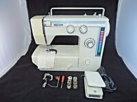 HEAVY DUTY Free Arm ZigZag NECCHI MODEL 537L SEWING MACHINE WITH FOOT CONTROL
