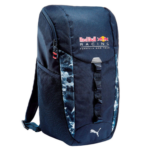 39e8848efce Puma Red Bull Backpack Blue for Sport Casual School Laptop Compartment Rbr